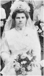 Bridal Veil of 1912 Bride