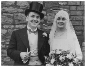 Wedding couple 1930